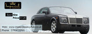 Hire a Rolls Royce vehicle in an economical price over just a phone ca