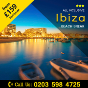 Offer Starts from £159 pp on Ibiza Beach Break save up to 44%