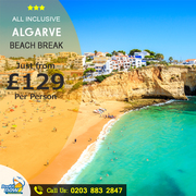 Book Algarve Holidays and Save up to 45% on vacation